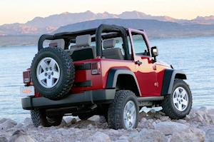 Jeep Wrangler cabriolet